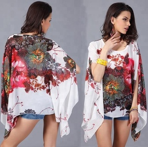 Hot Selling 2017 Women Chiffon Lady Blouse and Top Blusas Casual Loose Blouse
