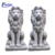 Large outdoor decoration a pair stone outdoor lion statue NTBA-010Y