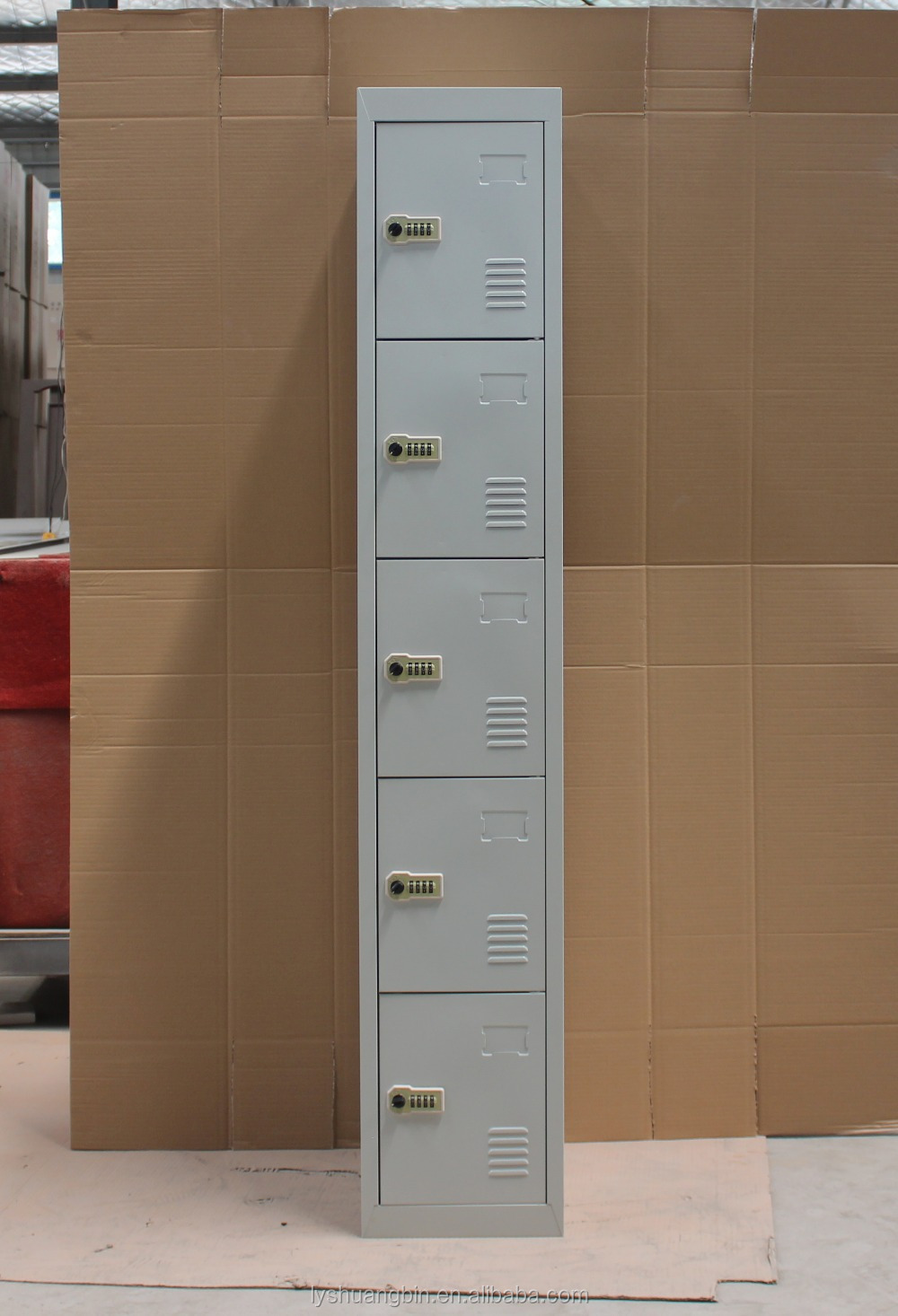 H185cm Grey American Locker/dressing Room Cabinet Furniture ...