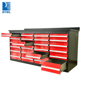 Suihe Metal Work Bench Steel Tool Cabinet With Heavy Duty 24 Drawers