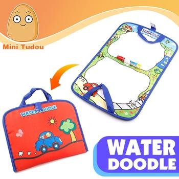 Bebek çocuk Su Oyunu çizim Tahtasında Boyama Ve Yazma Ile Aqua