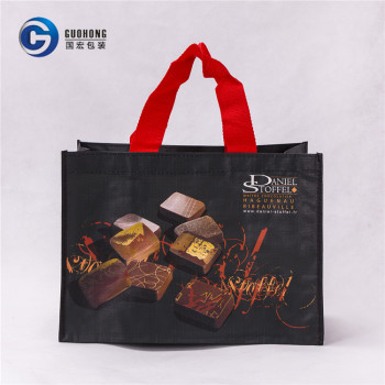Low Price Wholesale Custom Reusable Laminated Foldable Pp Woven Shopping Bags
