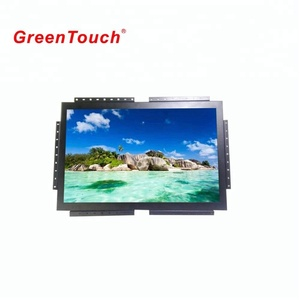 Green Touch Cheap Price 27 32 Inch Led Touch Screen Monitor Open Frame Lcd Monitor