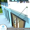 Stainless Steel Glass Canopies For Doors And Windows