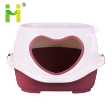 Wholesale small pets lovely plastic cat house outdoor/inddoor