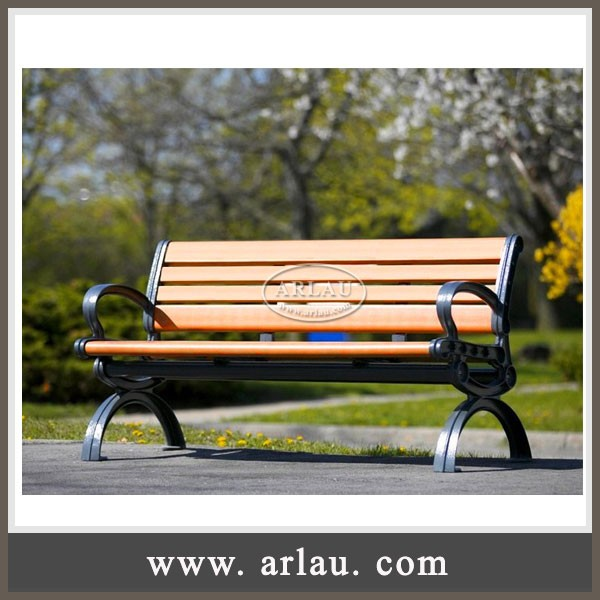 Arlau Outdoor Furniture China,Outdoor Cast Iron Bench Seat,Park Bench Garden Chair