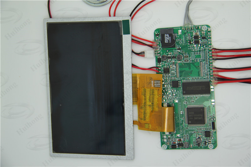 high resolution 5 inch low power lcd module for video brochure