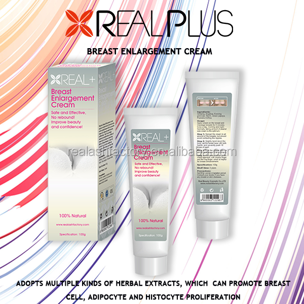 Successful plan five ingredients real plus instant breast enlargement cream; 20-35 Days Results breast tightening cream