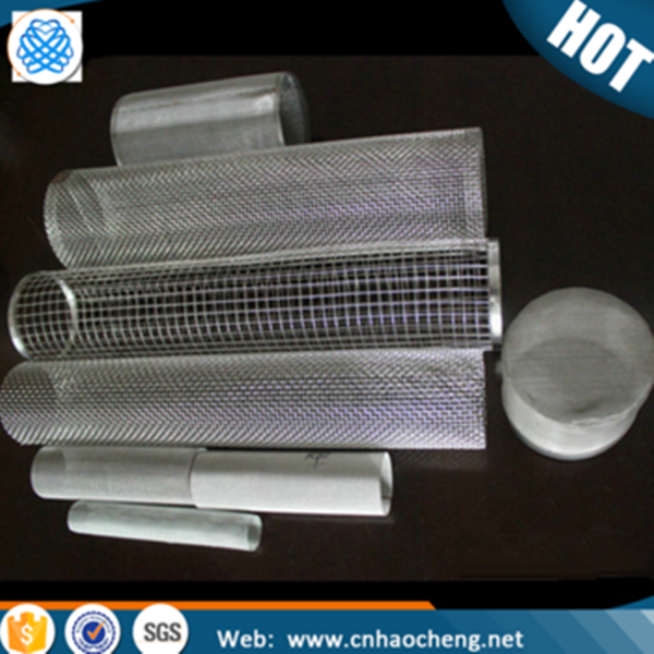monel 400 /hastelloy c-276/inconel 600 wire mesh filter tube