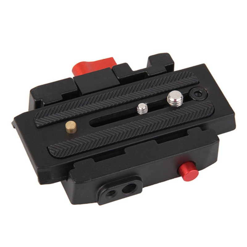 Camera P200 Quick Release Clamp Adapter QR Plate for Manfrotto 501 503HDV 7M1W Q5 500AH 701HDV 577