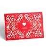 Handmade paper crafts laser cut invitation cards models colorful card invitation with free design free logo