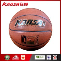 Kansa-1025 Professional Exercise Training PU Leather Size 7 Basketball Ball