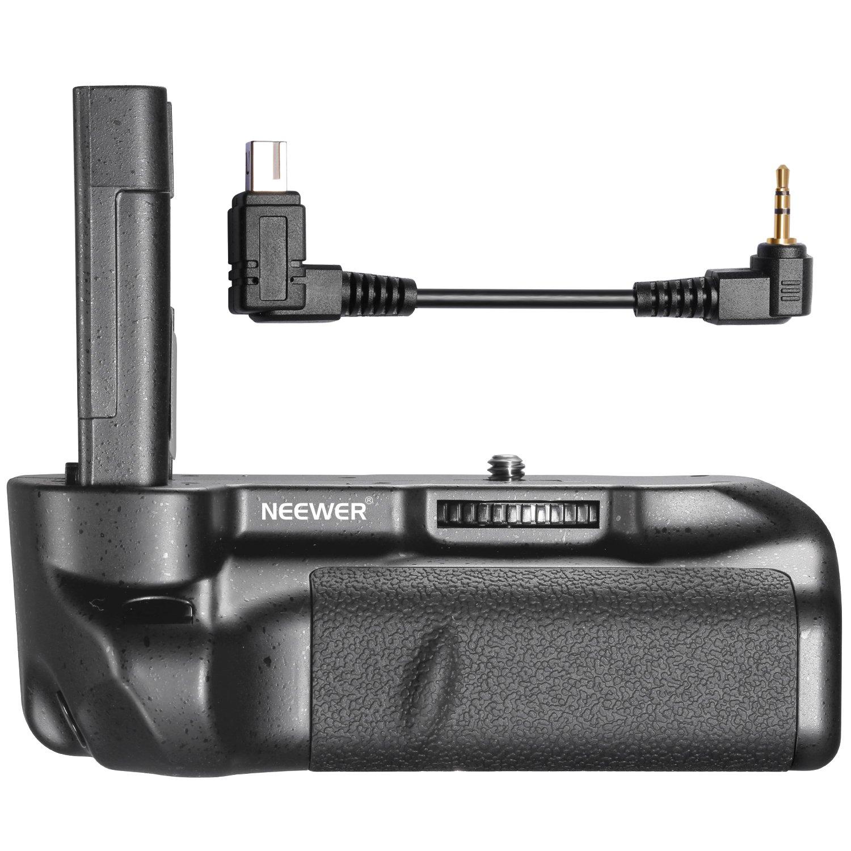 Neewer Vertical Shutter Release Battery Grip Work with EN-EL9/EN-EL9A Li-ion Batteries for Nikon D5000 DSLR Camera