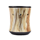 2019 New Style Wooded Electric Wax Melt Warmer aroma oil burner