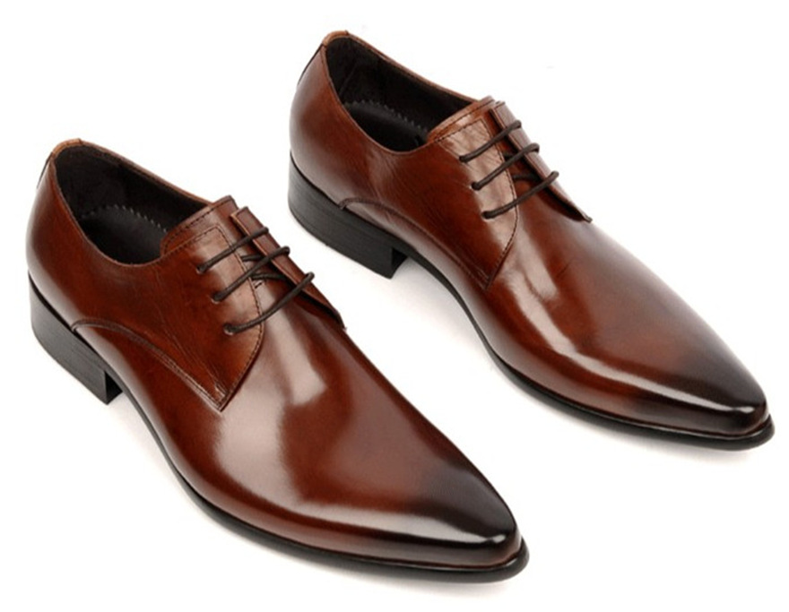 Buy Large size EUR 45 derby shoes Black