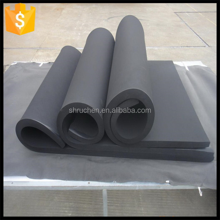 Eco-friendly reasonable price non slip sbr foam with fabric