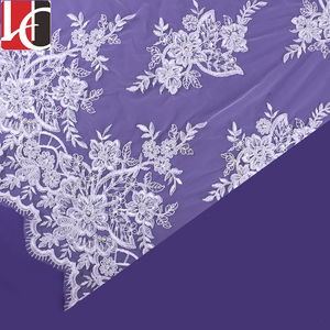 HC-3224 Bigger factory Sale Ghana wedding lace fabric