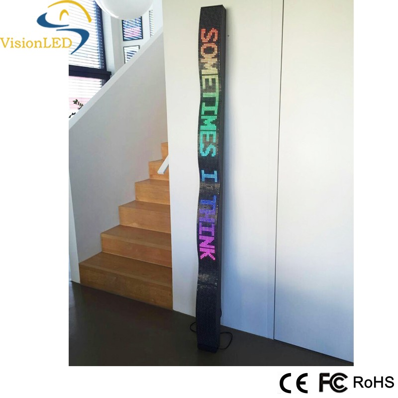P7.62 LED Programmable Flexible Display/LED Moving Message Sign