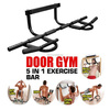 upper body gym workout exercise door pull chin up pullup bar