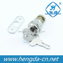 YH2011 Mini Slot Cylinder Cam Lock For Small Jewelry Box Milk Cabinet Lock