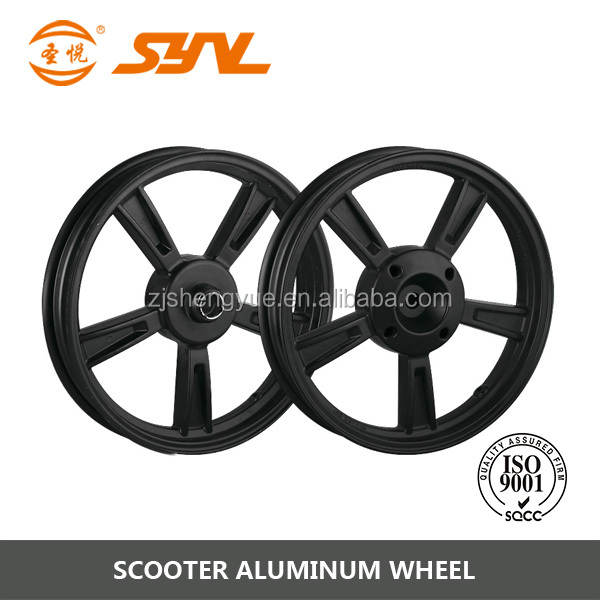 16 inch black scooter rim
