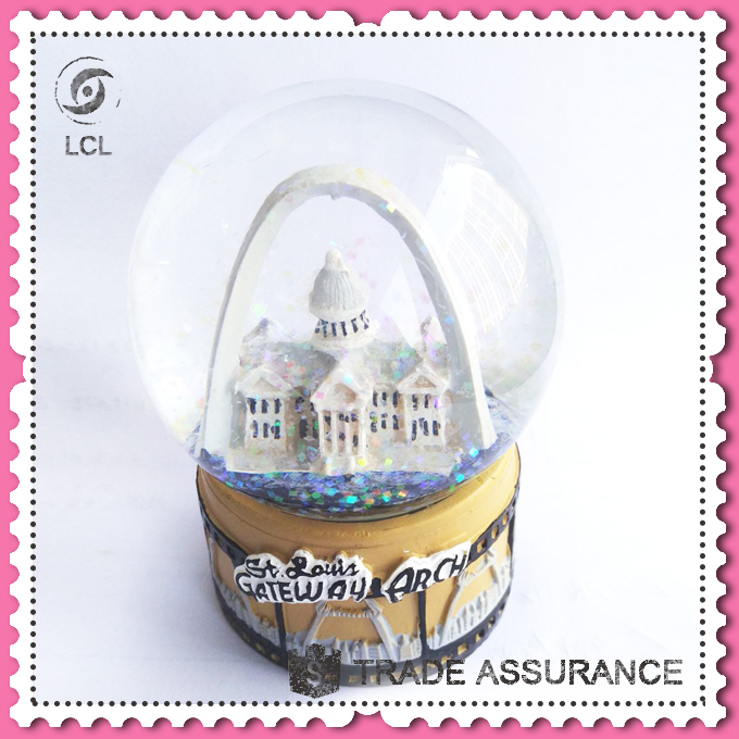 Crystal snow globe water ball for gifts, snow globe for sale