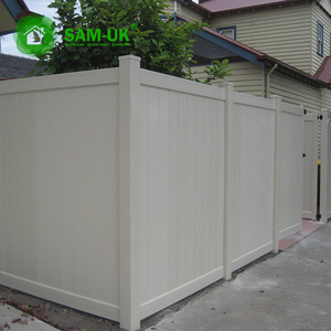 4 ft. H x 6ft or 8 ft. W foot cheap white vinyl privacy fence