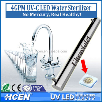 Home Drinking Water Uv Led Sterilizer Home Pure Water Filter