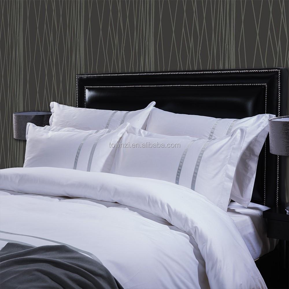 wholesale 4 pcs customized bedding sets 2017 new arrival white
