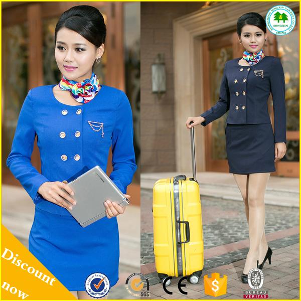 Fashion Flight Stewardess Uniform Air Hostess Scarf For
