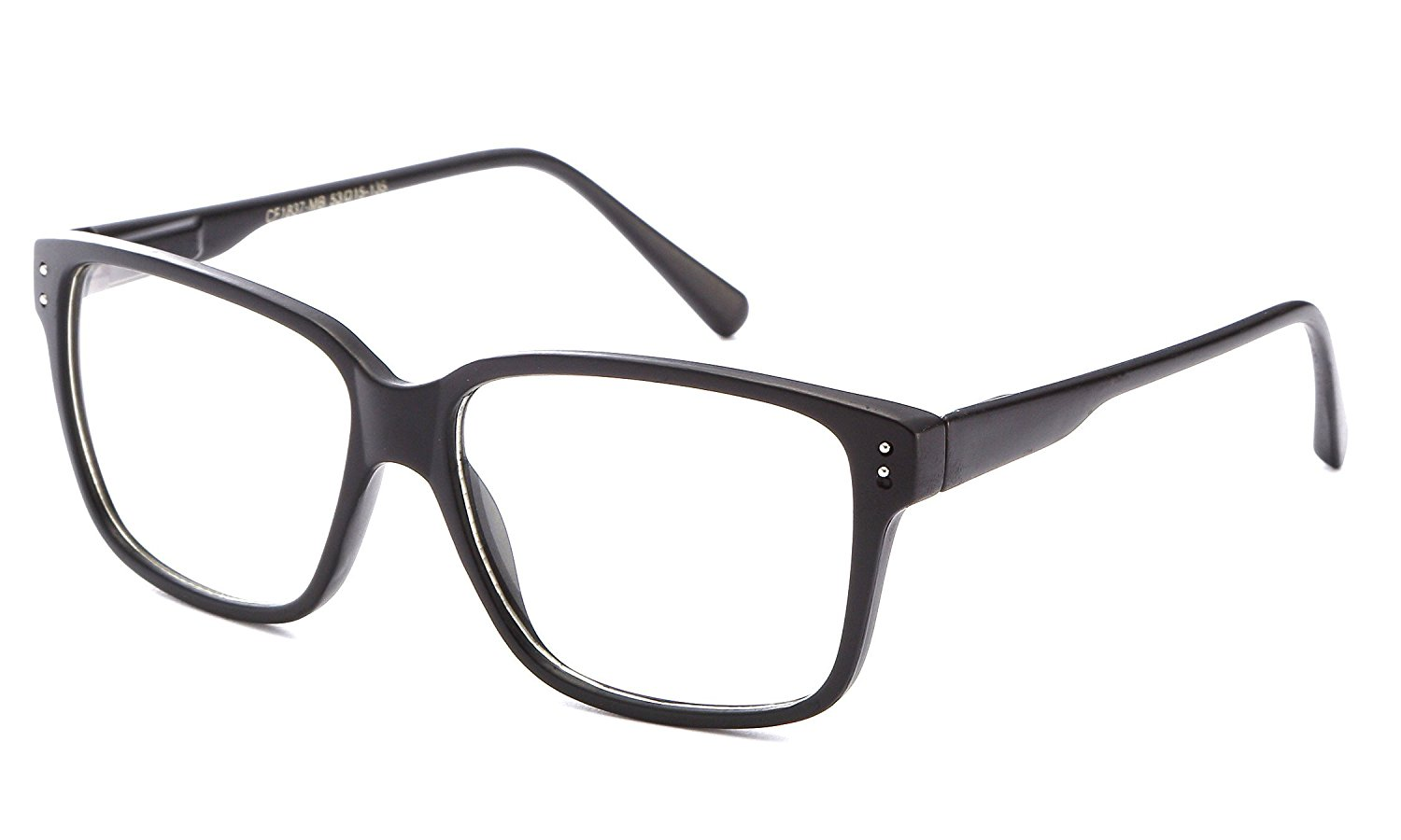 a5566e40ea Get Quotations · Newbee Fashion- Casual Nerd Thick Clear Frames Fashion  Glasses for Women