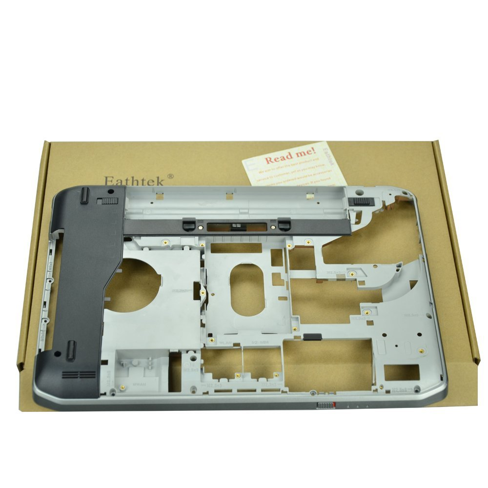 Eathtek New Laptop Bottom Case Base Cover Smart Card Slot for Dell Latitude E5430 series, Compatible with part# PJ04K 0PJ04K AP0M3000600