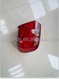 car tail lamp for gol G6