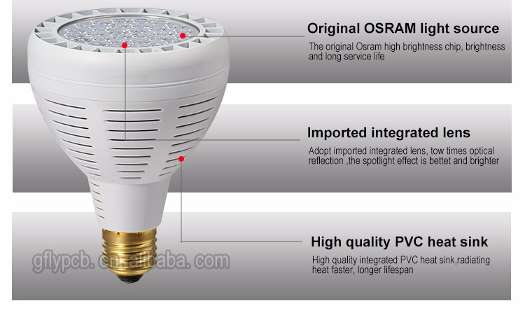 Factory Price 3 Year Warranty High Quality 30w Cob Led Track Light ...