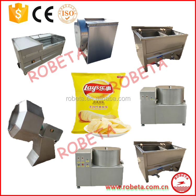 Potato chips production line/frozen french fries production line