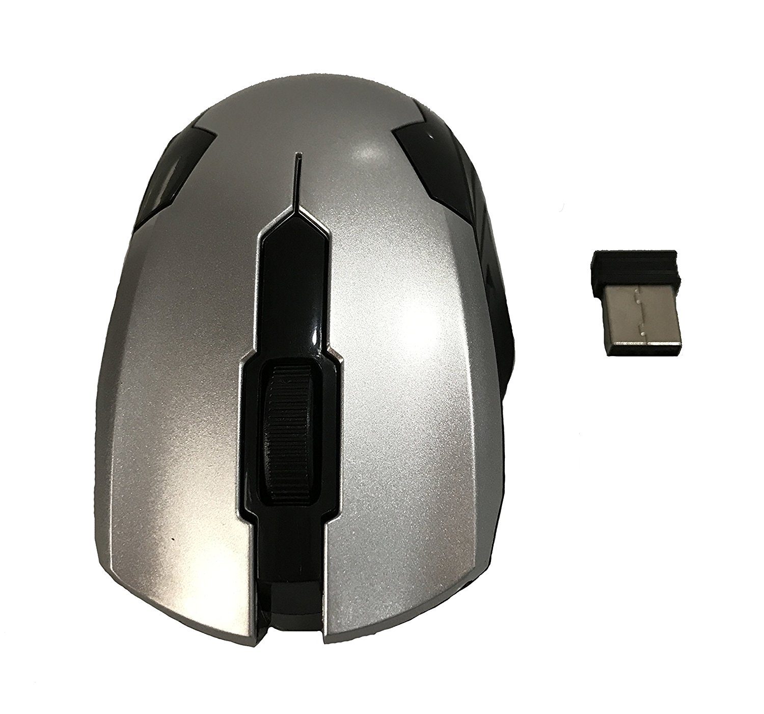 Cheap Bluetooth Mouse Usb Find Deals On Line At Wireless Optical Micro Power 24ghz Plug And Play Get Quotations With Web Scrolling Ergonomic Design Silver