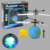 europa aircraft uav flight infrared remote control drone with light