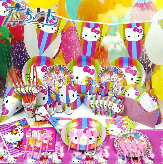 Popular Hello Kitty Baby Shower Decorations-Buy Cheap ...