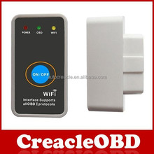 Kualitas tinggi wifi <span class=keywords><strong>OBD</strong></span> diagnostik mini ELM327 adapter wifi ELM327 <span class=keywords><strong>OBD</strong></span> 2 <span class=keywords><strong>ii</strong></span> mobil diagnostik antarmuka <span class=keywords><strong>scanner</strong></span>