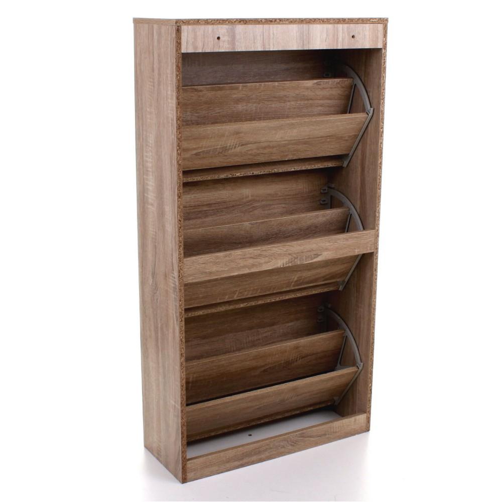 3 Drawer Shoe Storage Cabinet Cupboard Hinges For Shoe Cabinet ...
