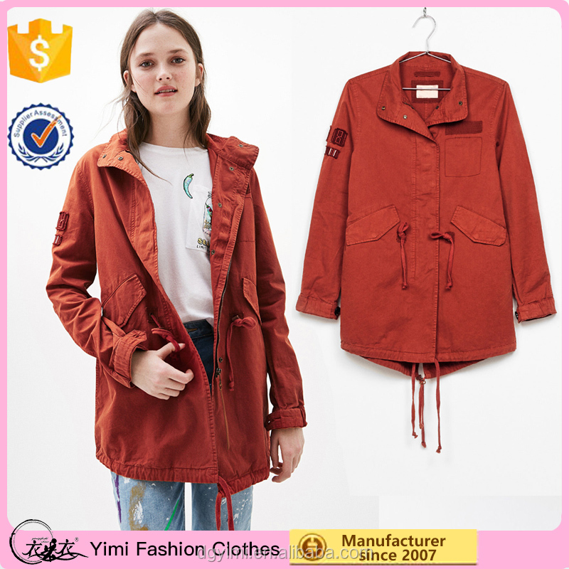 New Autumn design short style coat custom made style high quality trench coats wholesale women jeackets
