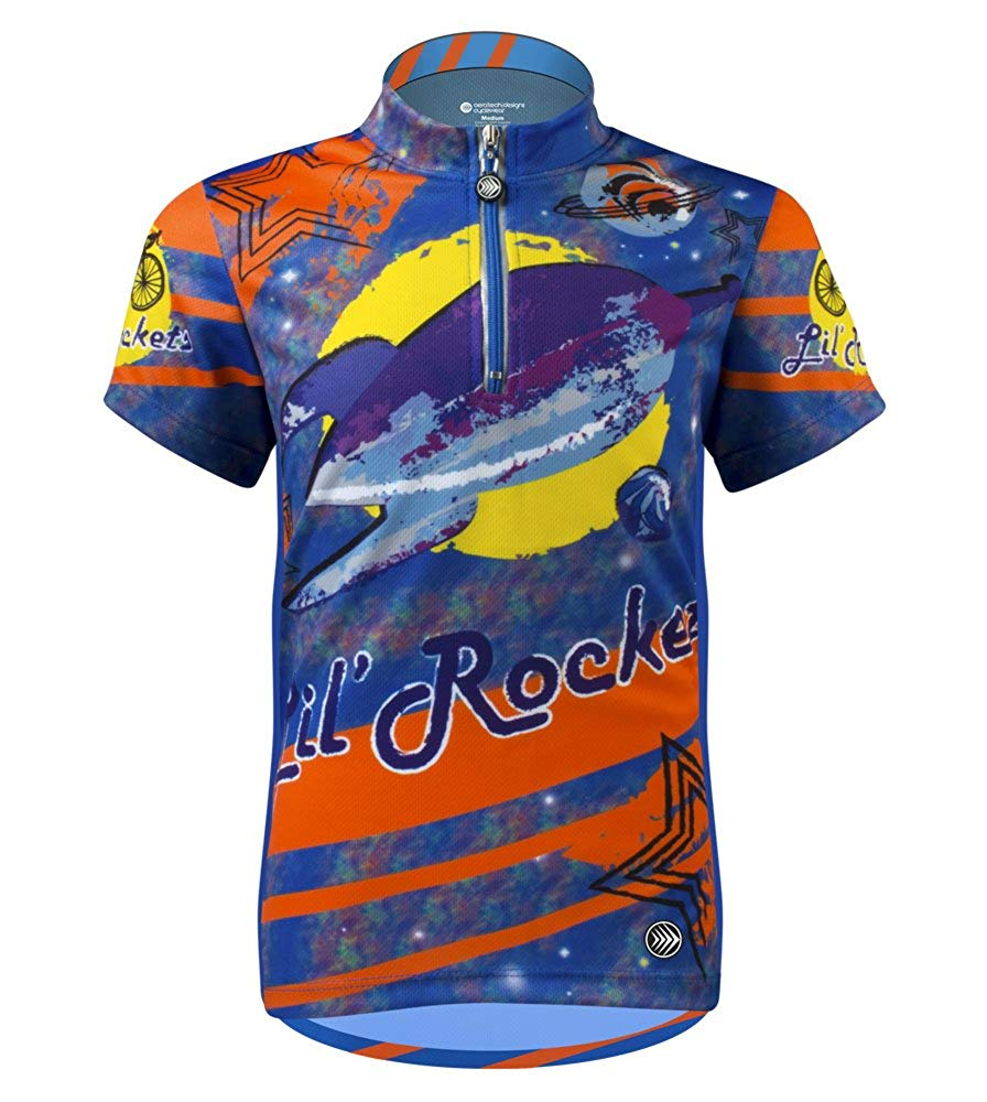 Children s Lil Rockets Cycling Jersey - Made in USA f1b1555b2