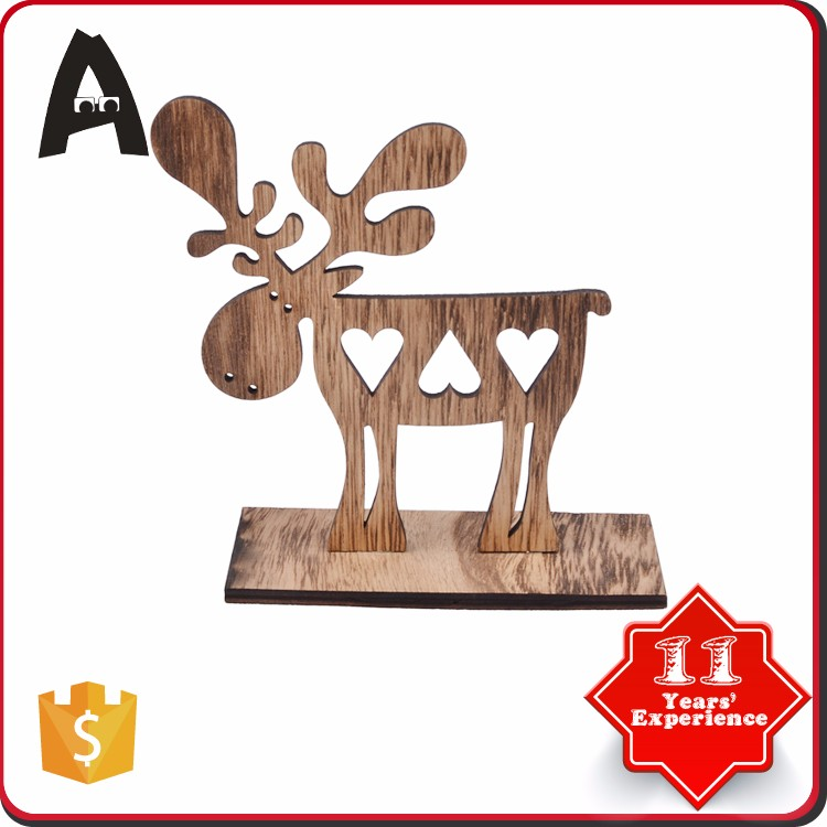 Factory supply diy wooden craft with quality warrantee