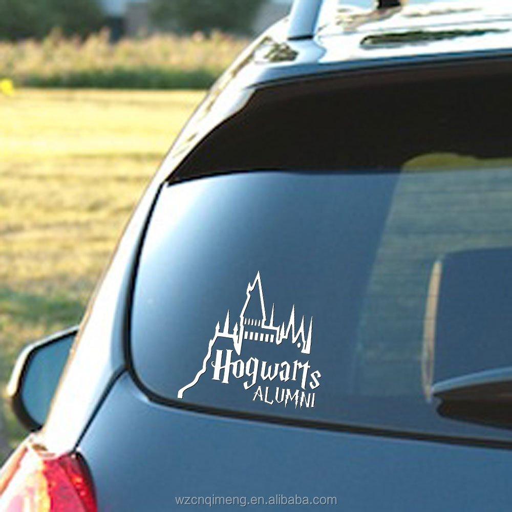 Custom vinyl car sticker for glass dorr car window film tint