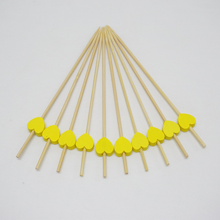 Hot sale bamboo fruit sticks for food industry,bamboo stick for cotton candy,bamboo food tasting stick