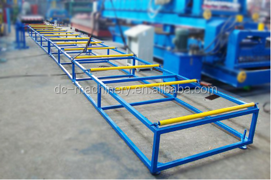 African popular type double layer 950 / 1000 Metal roof slate, shake roll forming machine for galvanized tile
