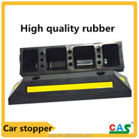 Heavy duty wheel stop be used on shopping centres traffic safety equipment