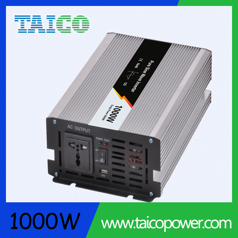 1000W 24v hybrid pure sine wave inverter with mppt
