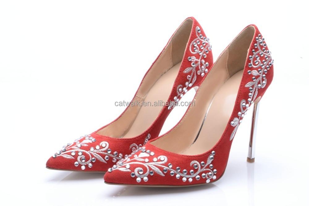 Ladies Footwear Online Shopping Popular Design Wedding Dress Shoes ...