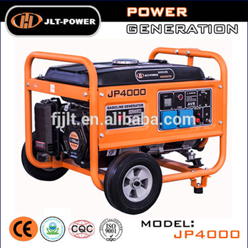 Lower price for 5KW electric gasoline generator Hyundai with pure copper winding